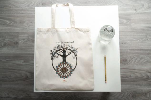 Nachhaltige Stofftasche
